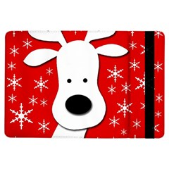 Christmas reindeer - red iPad Air Flip
