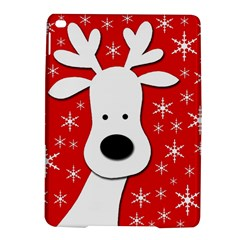 Christmas reindeer - red iPad Air 2 Hardshell Cases