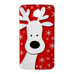 Christmas reindeer - red Nexus 6 Case (White)