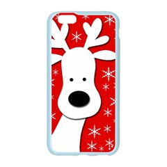 Christmas reindeer - red Apple Seamless iPhone 6/6S Case (Color)