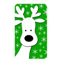 Christmas reindeer - green Memory Card Reader