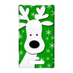 Christmas reindeer - green Nokia Lumia 925