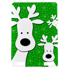 Christmas reindeer - green 2 Kindle Touch 3G
