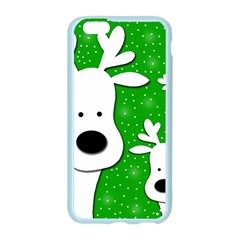 Christmas reindeer - green 2 Apple Seamless iPhone 6/6S Case (Color)