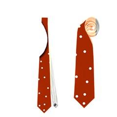 Christmas reindeer - red 2 Neckties (One Side)
