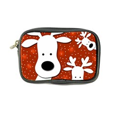 Christmas reindeer - red 2 Coin Purse