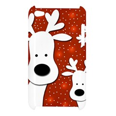 Christmas reindeer - red 2 Apple iPod Touch 4