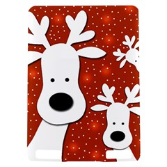 Christmas reindeer - red 2 Kindle Touch 3G