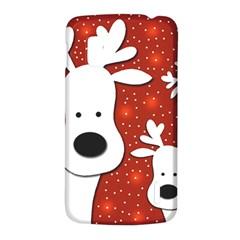 Christmas reindeer - red 2 LG Nexus 4