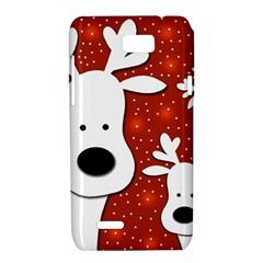 Christmas reindeer - red 2 Motorola XT788