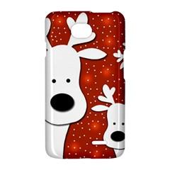 Christmas reindeer - red 2 LG Optimus L70