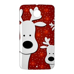 Christmas reindeer - red 2 Nexus 6 Case (White)