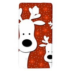 Christmas reindeer - red 2 Galaxy Note 4 Back Case