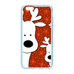 Christmas reindeer - red 2 Apple Seamless iPhone 6/6S Case (Color)