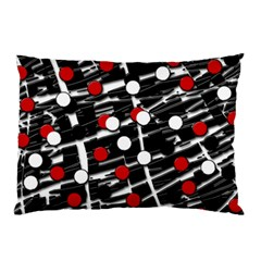 Red and white dots Pillow Case