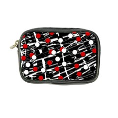 Red and white dots Coin Purse