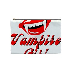Vampire Girl Cosmetic Bag (medium)