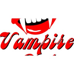 Vampire Girl You Are Invited 3d Greeting Card (8x4)