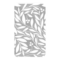 Gray and white floral pattern Memory Card Reader