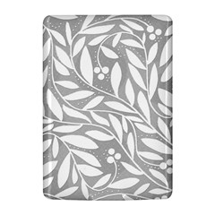 Gray and white floral pattern Kindle 4