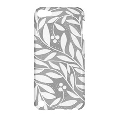 Gray and white floral pattern Apple iPod Touch 5 Hardshell Case