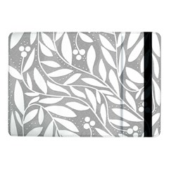 Gray and white floral pattern Samsung Galaxy Tab Pro 10.1  Flip Case