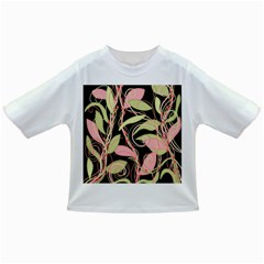 Pink and ocher ivy Infant/Toddler T-Shirts