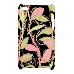 Pink and ocher ivy Apple iPod Touch 4