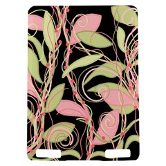 Pink and ocher ivy Kindle Touch 3G