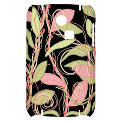 Pink and ocher ivy Samsung S3350 Hardshell Case