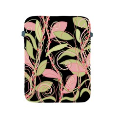 Pink and ocher ivy Apple iPad 2/3/4 Protective Soft Cases