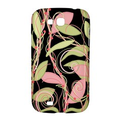 Pink and ocher ivy Samsung Galaxy Grand GT-I9128 Hardshell Case