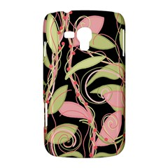 Pink and ocher ivy Samsung Galaxy Duos I8262 Hardshell Case