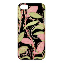 Pink and ocher ivy Apple iPhone 5C Hardshell Case
