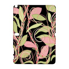 Pink and ocher ivy Samsung Galaxy Note 10.1 (P600) Hardshell Case