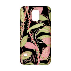 Pink and ocher ivy Samsung Galaxy S5 Hardshell Case