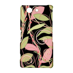 Pink and ocher ivy Sony Xperia Z3 Compact