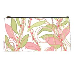 Pink and ocher ivy 2 Pencil Cases