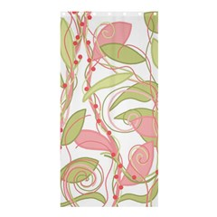 Pink and ocher ivy 2 Shower Curtain 36  x 72  (Stall)