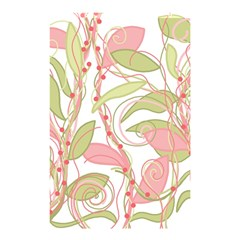 Pink and ocher ivy 2 Shower Curtain 48  x 72  (Small)