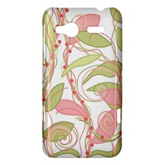 Pink and ocher ivy 2 HTC Radar Hardshell Case