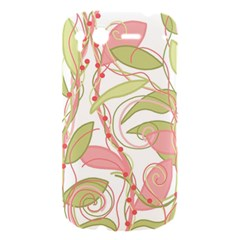 Pink and ocher ivy 2 HTC Desire S Hardshell Case