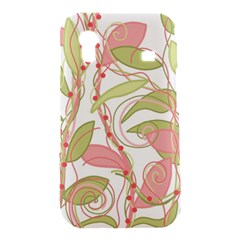 Pink and ocher ivy 2 Samsung Galaxy Ace S5830 Hardshell Case