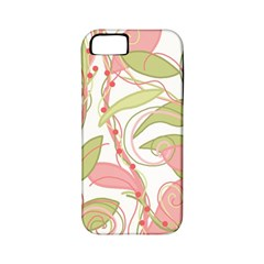 Pink and ocher ivy 2 Apple iPhone 5 Classic Hardshell Case (PC+Silicone)