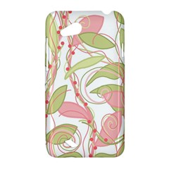 Pink and ocher ivy 2 HTC Desire VC (T328D) Hardshell Case