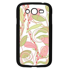 Pink and ocher ivy 2 Samsung Galaxy Grand DUOS I9082 Case (Black)
