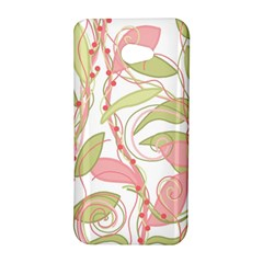 Pink and ocher ivy 2 HTC Butterfly S/HTC 9060 Hardshell Case