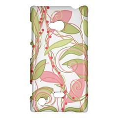 Pink and ocher ivy 2 Nokia Lumia 720