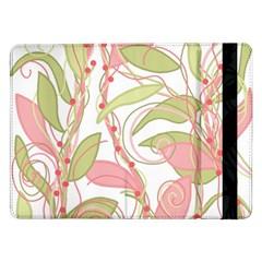Pink and ocher ivy 2 Samsung Galaxy Tab Pro 12.2  Flip Case