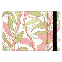 Pink and ocher ivy 2 iPad Air Flip